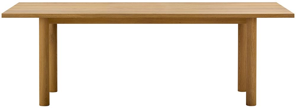 MALTA ダイニングテーブルD90(ウッドレッグ)