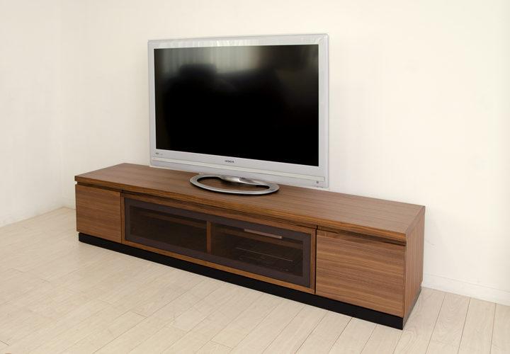 TVボード+台輪 ウォルナット WB-1
