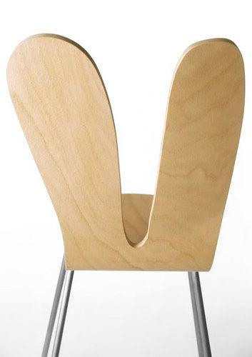 SANAA Armless Chair